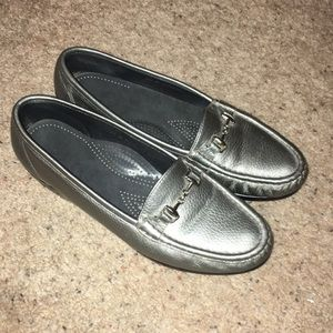 Silver SAS shoes in great condition